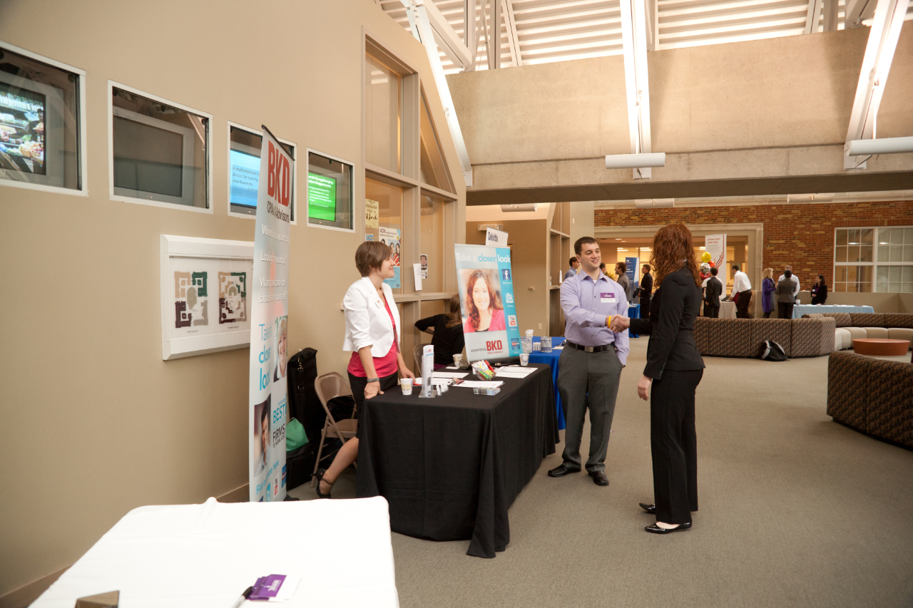 u of a meet the firms