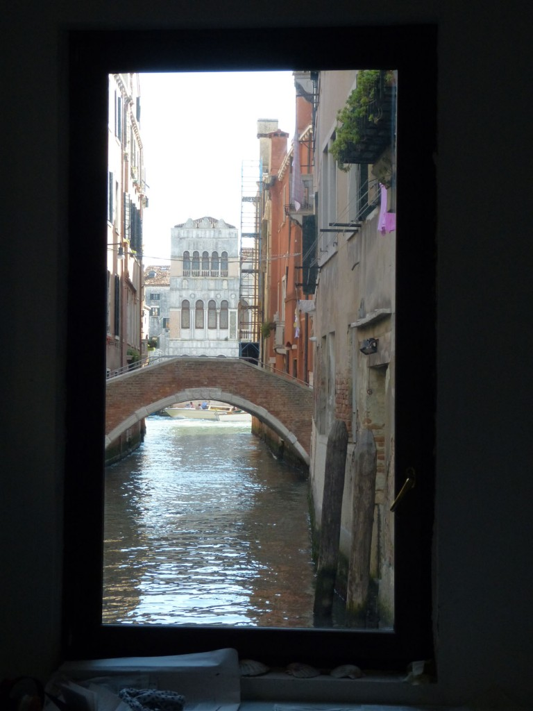 window on canal