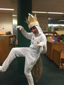 Taylor (Klein) Worley (BA Art History, 2009)as Max, from Where the Wild Things Are.
