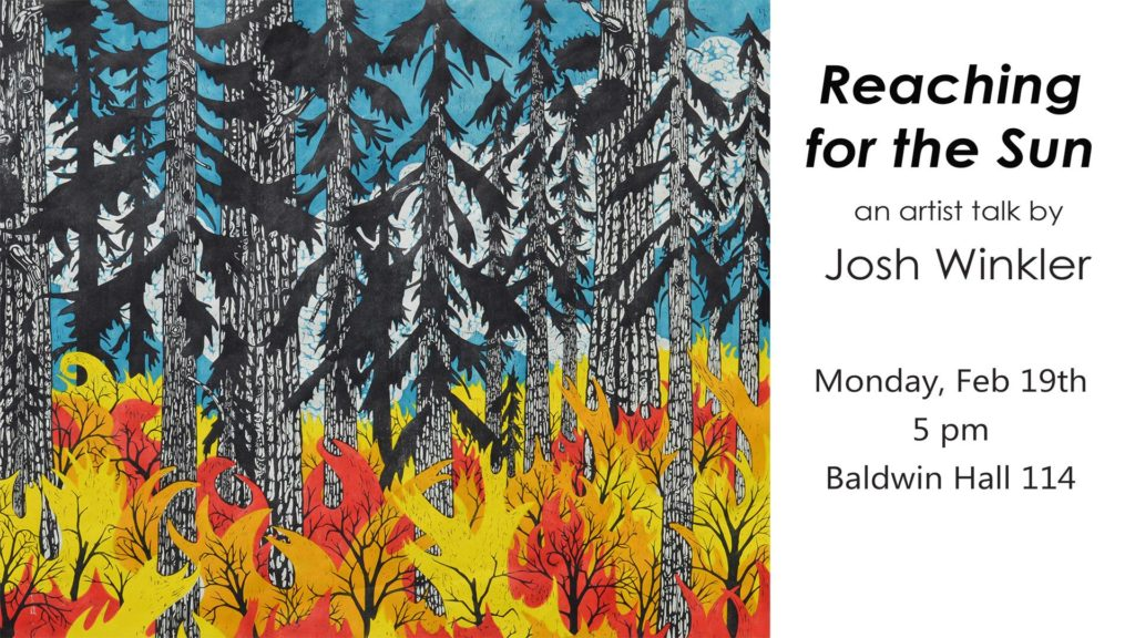 Guest Artist in Printmaking: Josh Winkler