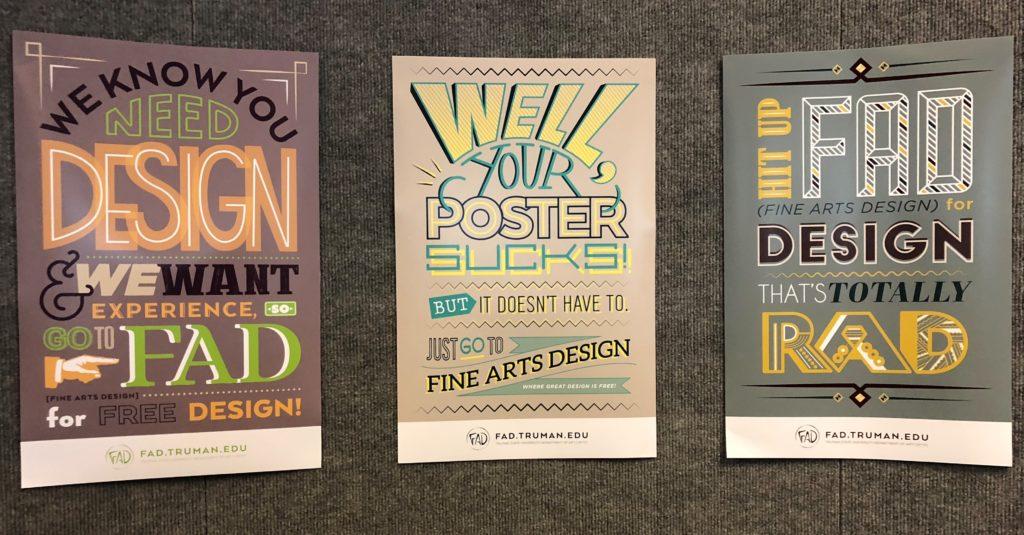 Scenes from the Design Students Senior Showcase