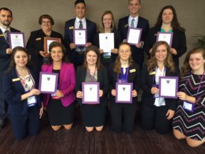 Delta Sigma Pi Wins Awards