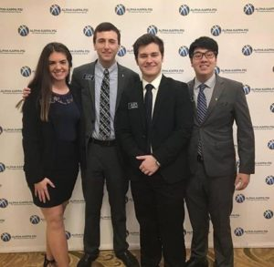 Alpha Kappa Psi's Annual Case Competition