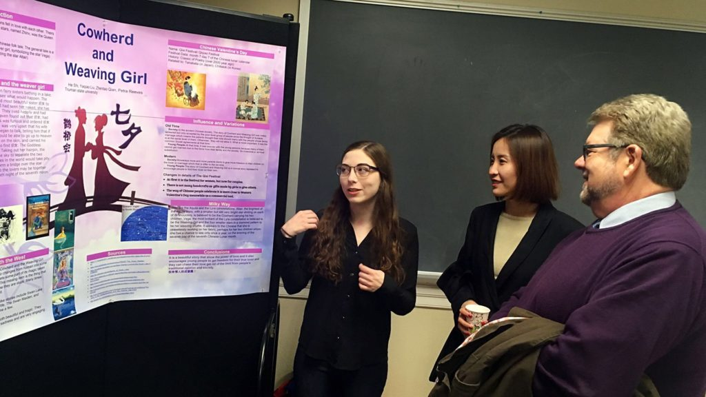 Poster Presentation about Special Topics in Chinese Culture