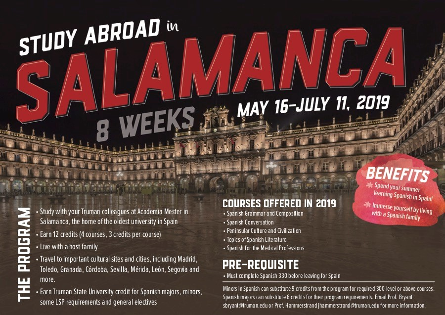 Summer Study Abroad in Salamanca