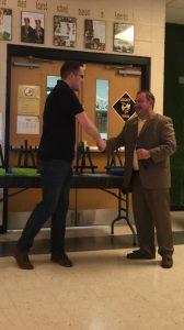 Aaron Stewart- Teacher of the Year