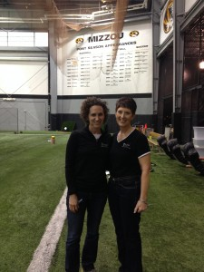 MizzouFootball 02-21 Jana and Brenda