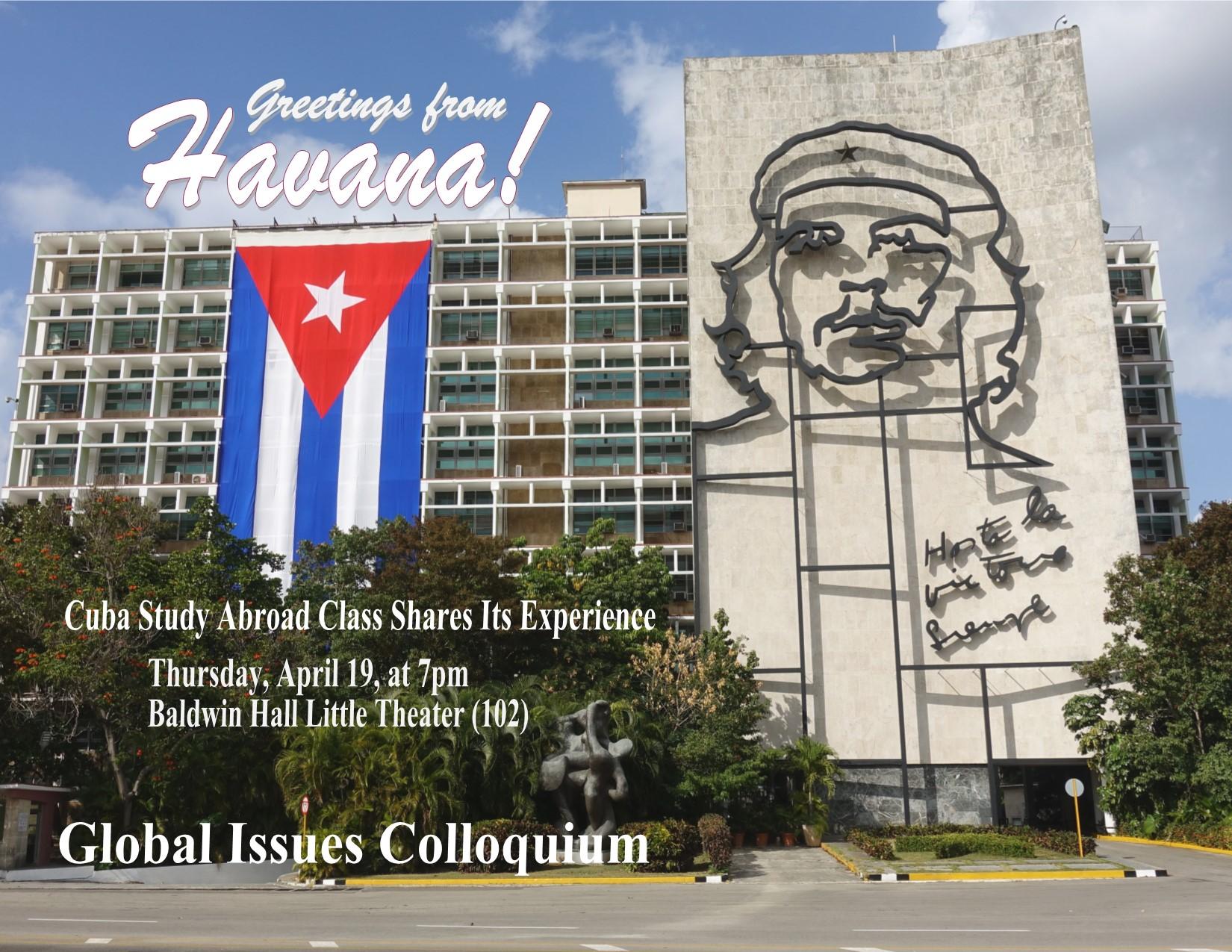 Cuba Student Panel