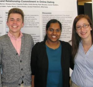 Kenneth Warner, Priyanka Prabhu, and Marissa Fabbri