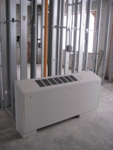 New heating and cooling unit 12-02-09