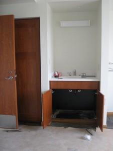 Community Room Sinks Installed 06-01-10