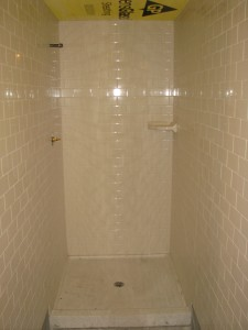 Tiled community showers 04-26-10
