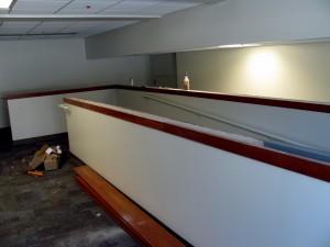 1st Floor Cafe Ramp