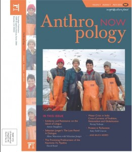 Cover -Anthropology Now