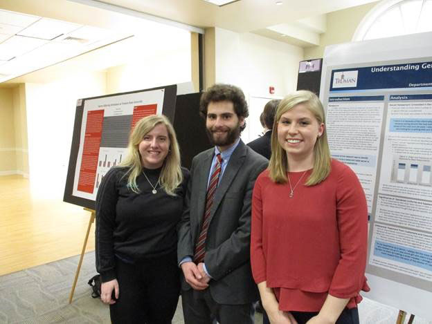 Poster Session at Truman's Student Research Conference