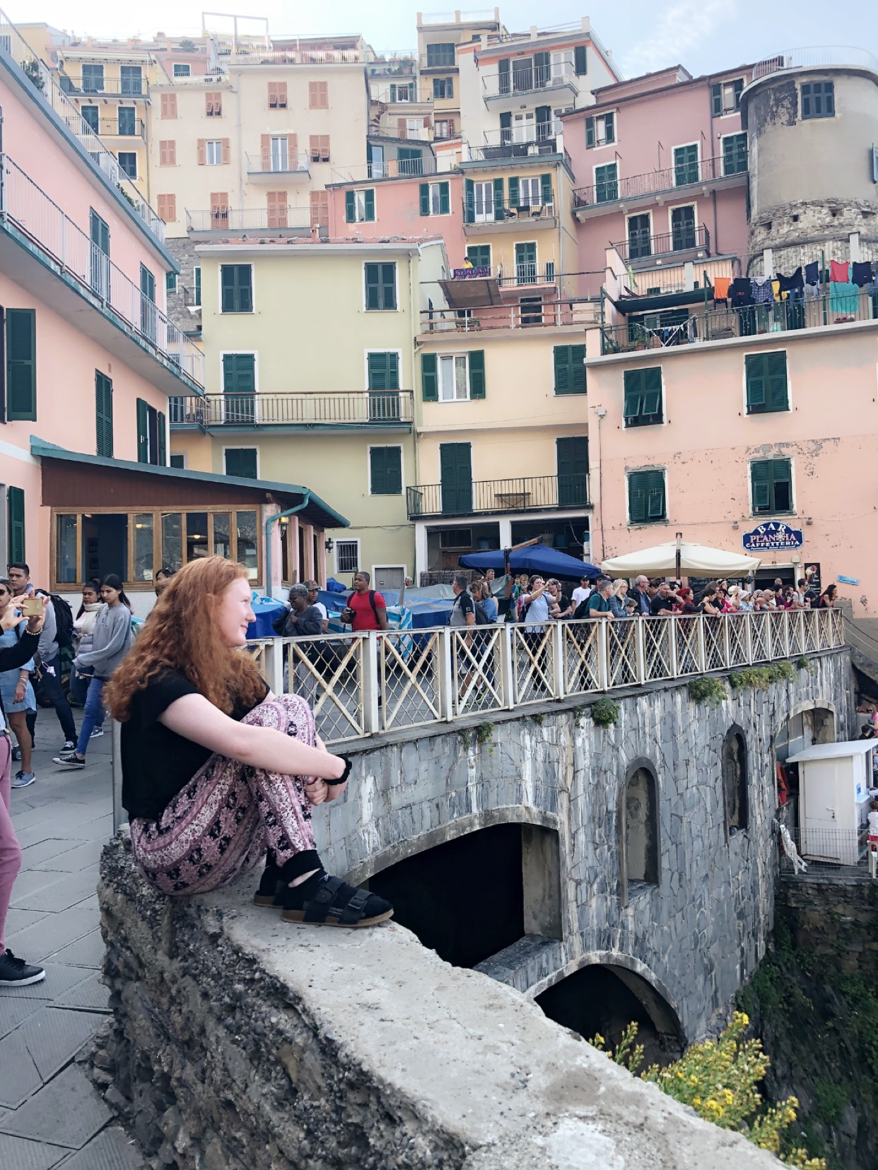 Sofi on her study abroad trip