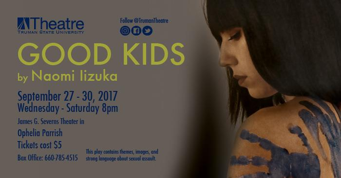 "Theatre Season Opens Sept. 27 with ""Good Kids"""