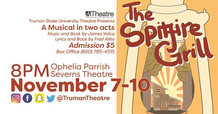 "Theatre Department Presents ""Spitfire Grill"""