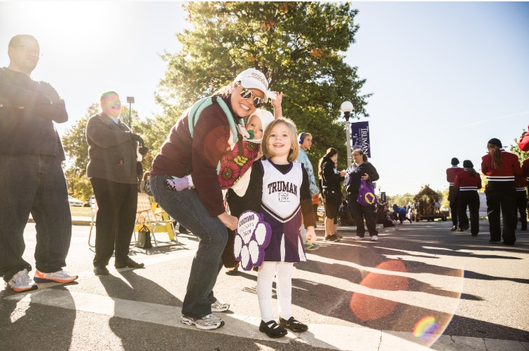 Homecoming Parade at Truman State University