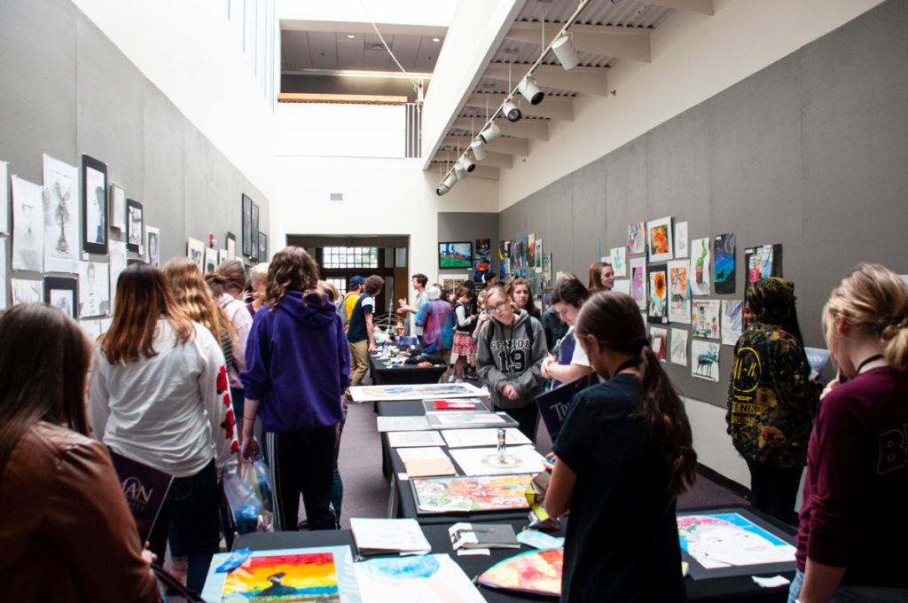High School Art Show and Competition
