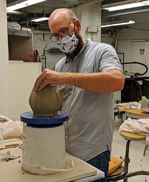 Ceramics Instructor Eric Ordway is Visiting Artist at College of the Ozarks