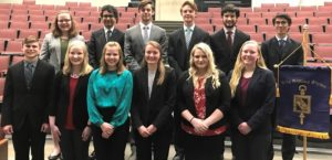 BGS Honor Society Inducts New Members