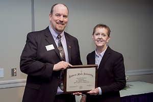 Barnes Receives Excellence in Teaching Award