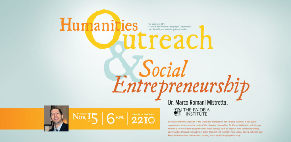 Humanities Outreach