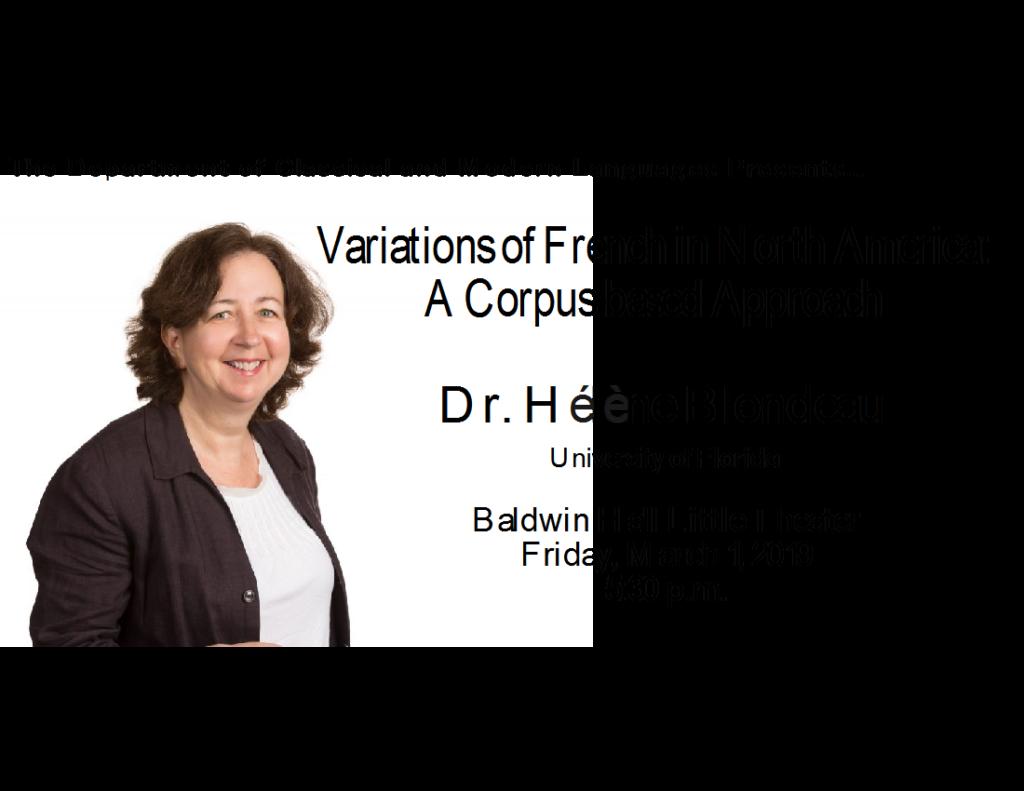 Dr. Hélène Blondeau Presentation
