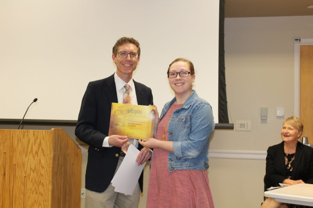 """Classical and Modern Languages """"Celebrating Student Success"""" Awards Reception"""