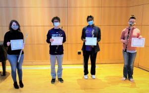 Woodwinds Students Receive Awards at 2020 MMTA Competition