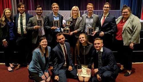 Forensics Team Among Best in Nation