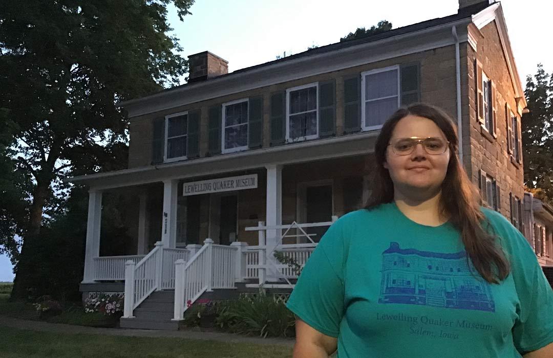 Hannah: Internship at Lewelling Quaker Museum